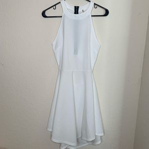 White Cocktail Dress | Size: M | Used